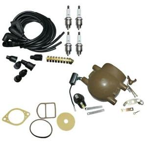 Complete Tune Up Kit Fits Ford 9N 2N 8N Tractors w Front Mount Distributor