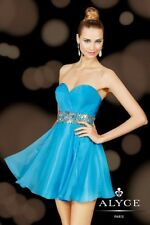 Alyce 3617 short prom dress Size 0Pageant Evening Formal Cocktail Party