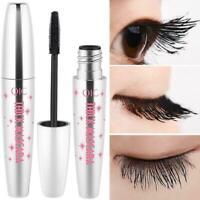 4D Silk Fiber Eyelash Mascara Extension Makeup Black Waterproof Eye Lashes-New N