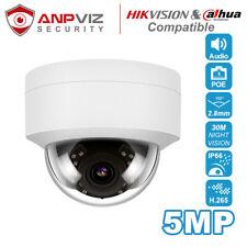 Anpviz IP Camera POE 5MP Dome Microphone One-way Audio H.265 Onvif