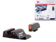 Trijicon GL101O HD Tritium Night Sights Glock 9mm / .40cal Pistols - Orange