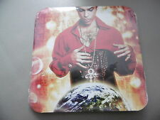 *NEW* PRINCE PLANET EARTH PROMO CD ALBUM IN ROUND CORNER CARD SLEEVE 2007 NPG