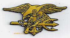 US NAVY SEAL TEAM 6 TRIDENT PATCH 911 WTC BIN LADEN PIN UP SAILOR CHIEF OFFICER
