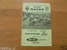 1976 INTERNATIONALE OLOF RACES CIRCUIT BEEKSE BERGEN TILBURG 11-4-1976