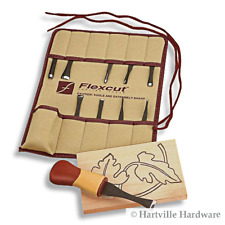 Flexcut #SK107 11-Piece Craft Wood Carving Set