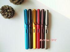 6 pcs LANBITOU Aluminium Metal Fine Nib Fountain Pen,6010