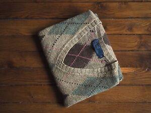 Débardeur col en V Jacquard Polo Ralph Lauren V-Neck Argyle Knit Vest M