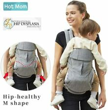 Hot Mom Baby Carrier Ergonomically Designed Multiple-Positions (Grey)