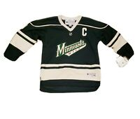 Minnesota Wild NHL Hockey Jersey Youth Size L/XL #9 Koivu Reebok Green