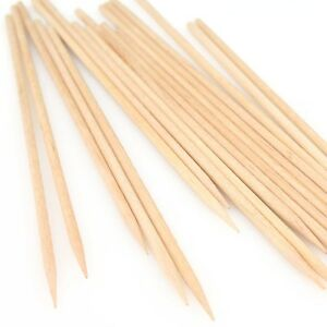 Royal Paper R815, 4.5-Inch Wooden Skewers, 1000-Piece Pack