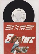 "7"" - Status Quo Rock til you drop & Medley - 1991 MINT mit Promo Info"