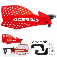 ACERBIS X-ULTIMATE  MX HAND GUARDS RED / WHITE HONDA CRF250 CRF450 2004 - 2018