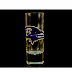 "Baltimore Ravens NFL ""Hype"" Tall Shot Glass"