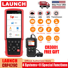 LAUNCH X431 CRP429C OBD2 Scanner Check ABS SRS Engine Transmission EPB Oil Reset