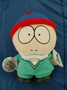 💎 Limited Edition Doctor Stan - South Park Plush 1998 -VERY RARE! -With Tags!💎