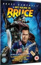 MY NAME IS BRUCE Bruce Campbell Cult Horror Comedy DVD *EXC*