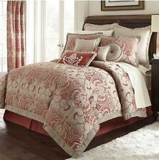 """Marquis by Waterford """"Luciana� Euro Pillow Sham Size: 26 x26"""" New Fringed"""