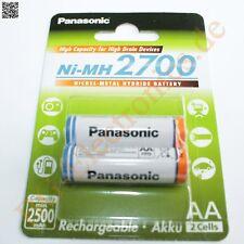 1 x BK-3HGAE 2BE AA 2700 Ni-MH Typ / size: AA / Mignon / HR3U Panasonic  1pcs
