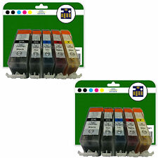 10 Ink Cartridges for Canon Pixma iP3600 iP4600 iP4700 non-OEM 520/521