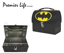 Batman Logo Domed Tin Tote Kids Lunch Box