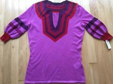 NWT Gucci Woman's Cashmere/Silk Top. Size L (fits M)Made in Italy Retail$895