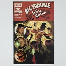 Big Trouble In Little China #1 Hughes Variant Signed by Hughes & Powell VF/NM