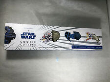 New listing Williams Sonoma Set of 4 Star Wars Press Stamp Cookie Cutters New