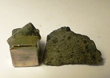 Very nice meteorite slice of the very rare ck6 (s1, w1) NWA 10116 1.05g low tkw