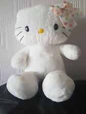 "Soft Toy Cat HELLO KITTY STUFFED PLUSH BUILD A BEAR approx 18"""
