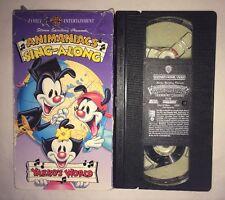 Animaniacs - Yakkos World: An Animaniac Singalong (VHS, 1994) RARE