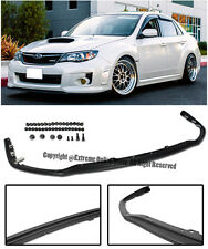 For 11-14 Subaru Impreza WRX STi V-LIMITED JDM STYLE Front Bumper Lower Lip Kit