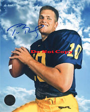 Tom Brady Michigan Wolverines autographed 8x10 photo RP