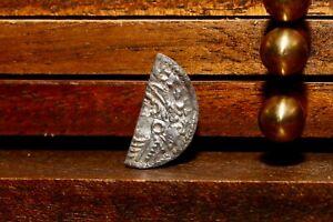 Viking King Cnut Half Cut Penny Saxon Halfpenny, London Mint, S1159