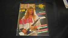 H/M rivista magazine metal #17/87 Metallica Crim Glory Motorhead + AC/DC sticker