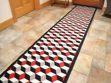 Very Long Narrow Hallway Hall Runner Rugs Non Slip Loop Pile Rubber Back Cheap
