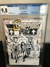 Champions 1 coloring variant edition CGC 9.8 🔥🔥