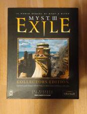 MYST 3 III EXILE COLLECTOR'S EDITION GIOCO COME NUOVO PC EDIZIONE ITALIA SCATOLA