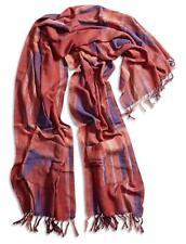 Lucky Brand - Women's - NWT $79 - Orange/Purple Ikat Plaid Kimono Scarf