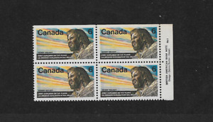 1970 Canada - Block of Four - Henry Kelsey - MNH.