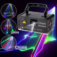 Chims DJ Stage Lighting Laser Light DMX 512 Control RGB 400mW Party Xmas Music