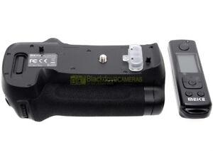 Impugnatura x Nikon D850 + telecomando wireless. Battery pack tipo MB-D18.