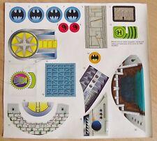 SET OF BATMAN STICKERS SHEET DC COMIC 1996 BATMAN RETURNS