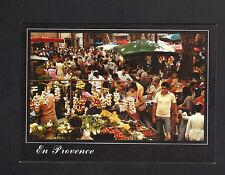 En Provence (83) MARCHAND d 'AIL & LEGUMES au Marché animé