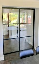 Industrial Metal & Glass Doors Crittall inspired Frames Made In London
