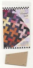 ONE PATCH WINDMILL QUILTING TEMPLATE WITH PATTERN, From Come Quilt With Me NEW