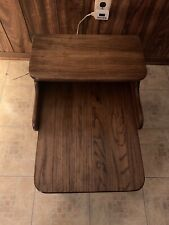 antique cobblers bench With Matching Side Tables