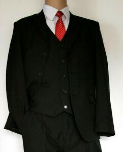 Jungen Anzug Kinderanzug Jungenanzug Kommunion Hochzeit schwarz 170 176 182