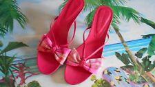 "Women's Donald J. Pliner 2"" Kitten Heels  Size 9 (B,M) Dress Solid Pink Leather"