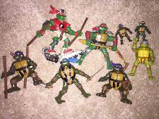 2003 SET TURTLES LEO DON RAPH MIKE ELITE + ACC TEENAGE MUTANT NINJA Turtles TMNT
