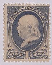 Travelstamps: 1881-82 US STAMPS SCOTT #206  Franklin Mint OG LH